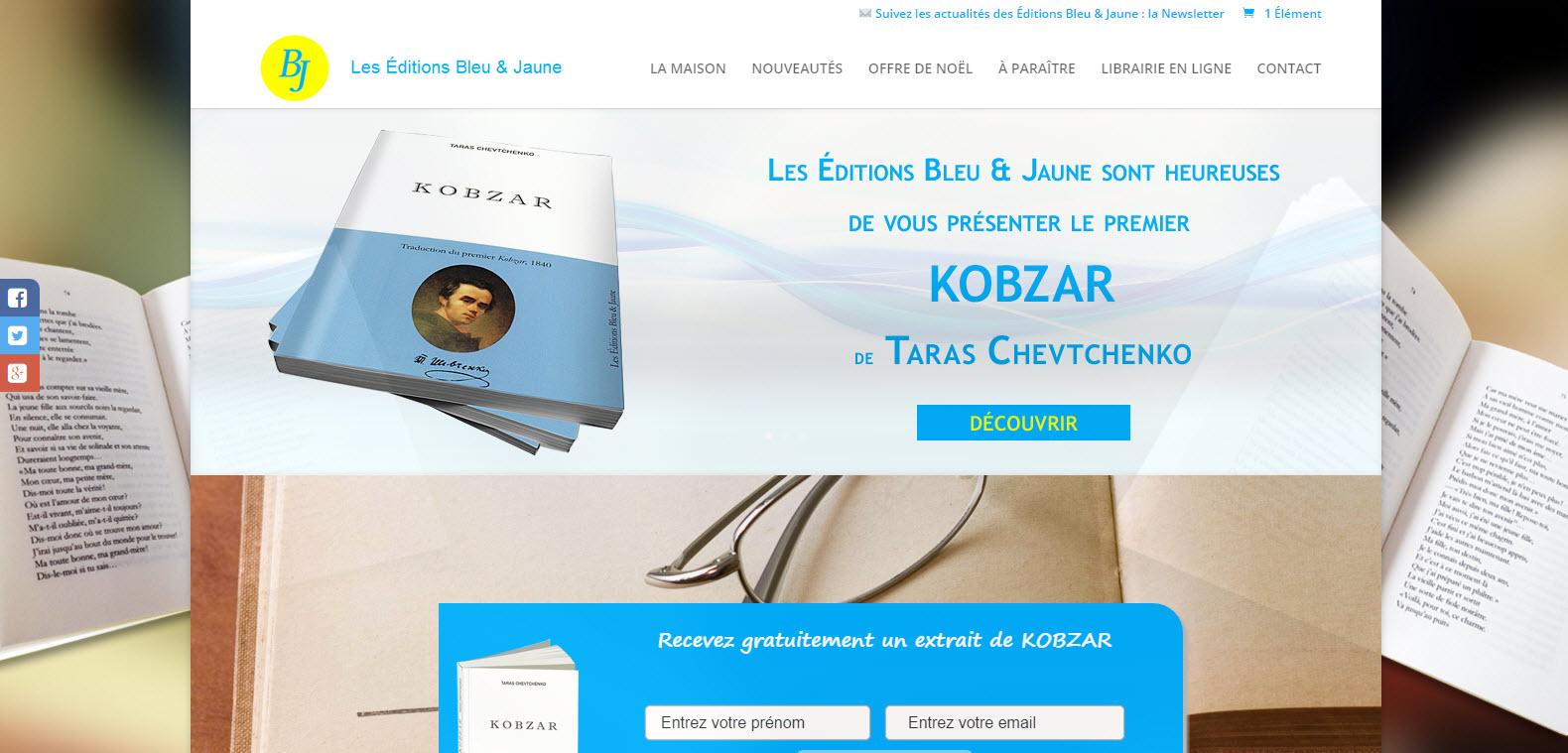 d5e4b0a3888692 Librairie en ligne   Les Éditions Bleu   Jaune