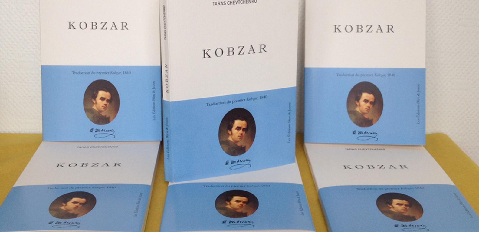Taras Chevtchenko, Kobzar, Editions Bleu et Jaune, Paris