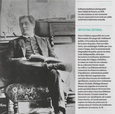Apollinaire, poète du siècle (par Olivier Maulin, Valeurs Actuelles n°4274)