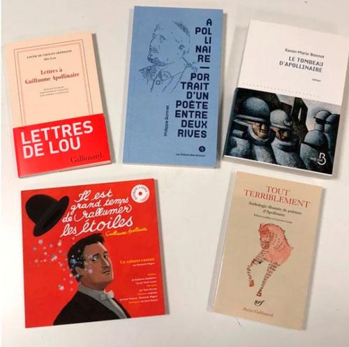 Terrible et touchant, Guillaume APOLLINAIRE en 5 livres (par Antoine OURY, ACTUALITTÉ)