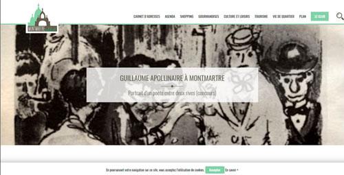 Guillaume Apollinaire à Montmartre – Portrait d'un poète entre deux rives de Philippe BONNET (Par MONTMARTRE-ADDICT)